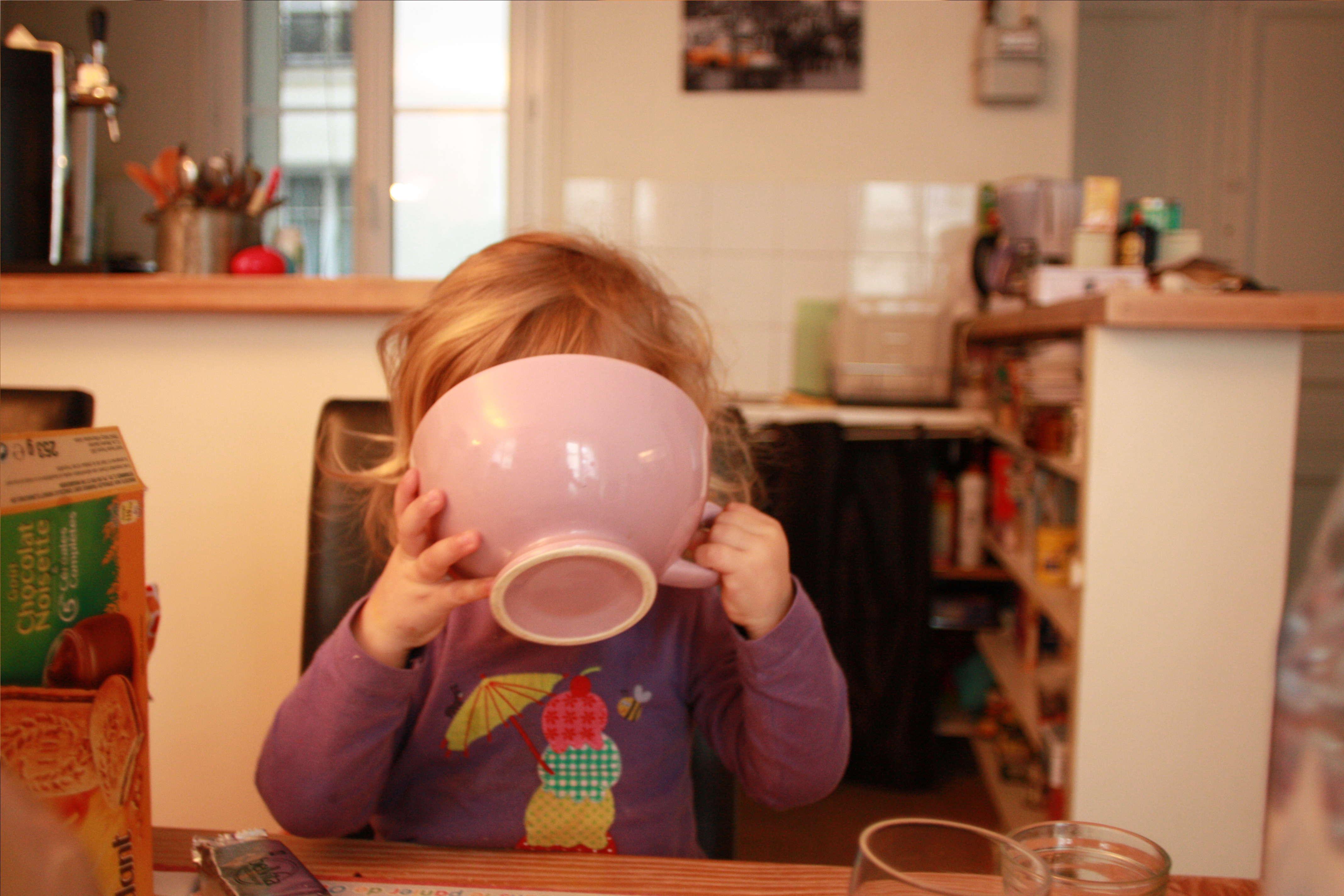 petit dejeuner enfant