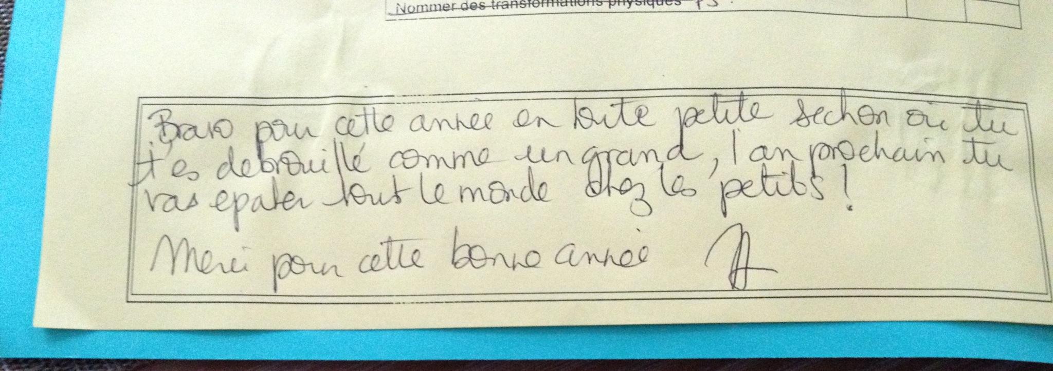 bulletin scolaire   Simply enjoy.