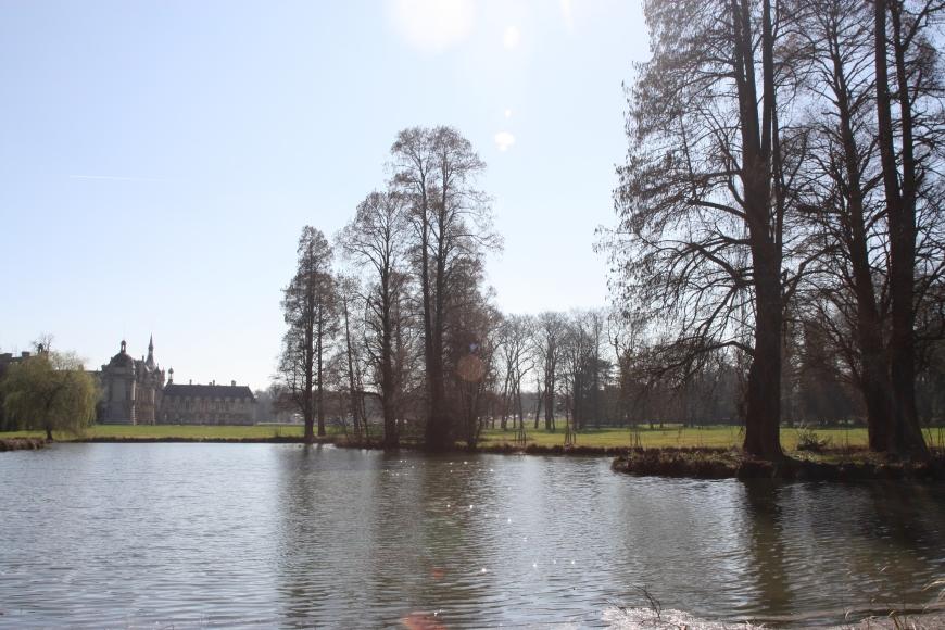 Jardins du château de Chantilly