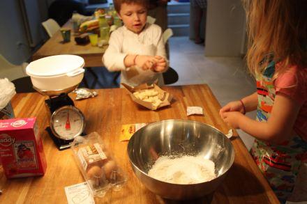 Muffin nougatine