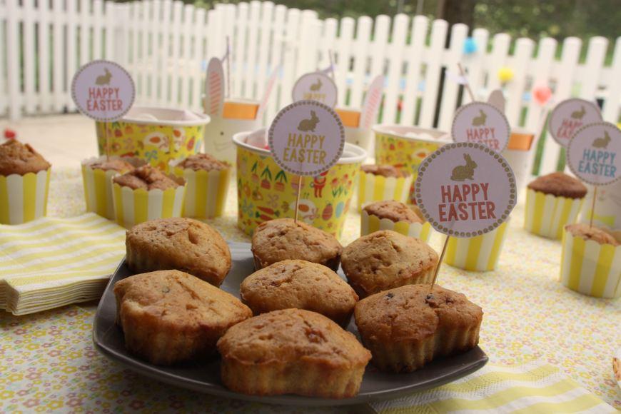 Gouter de Pâques sweet table