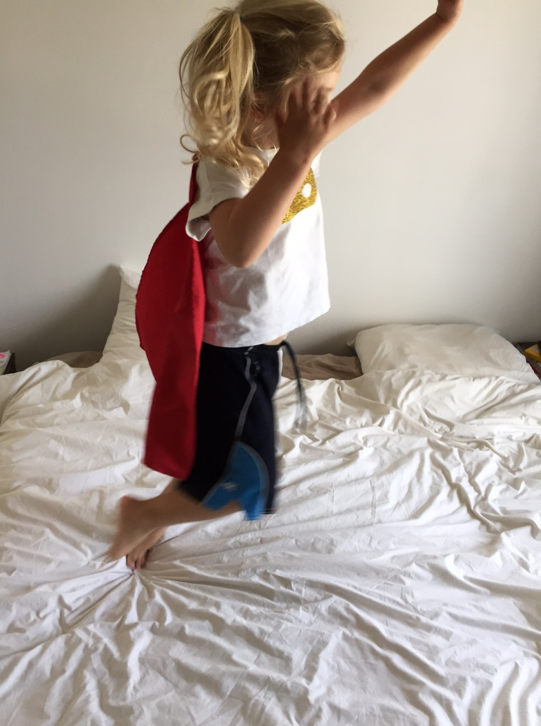 DIY cape super héros