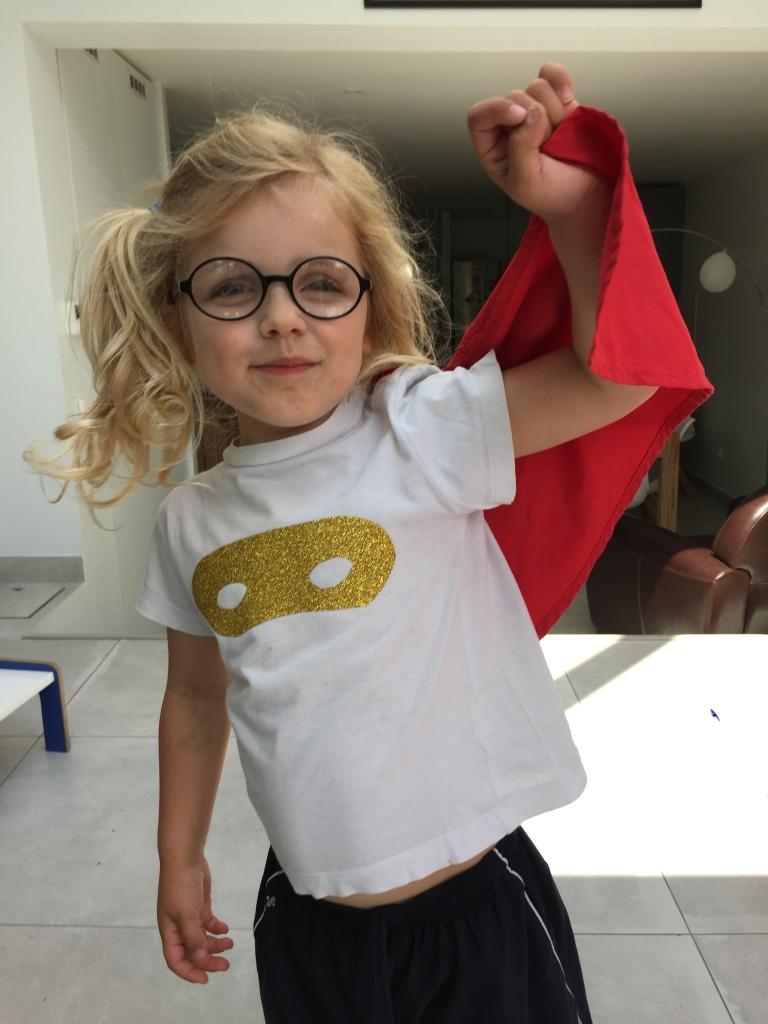 DIY cape super héros