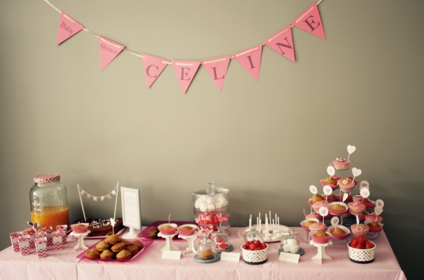 Sweet table baby shower (Fee moi Réver))