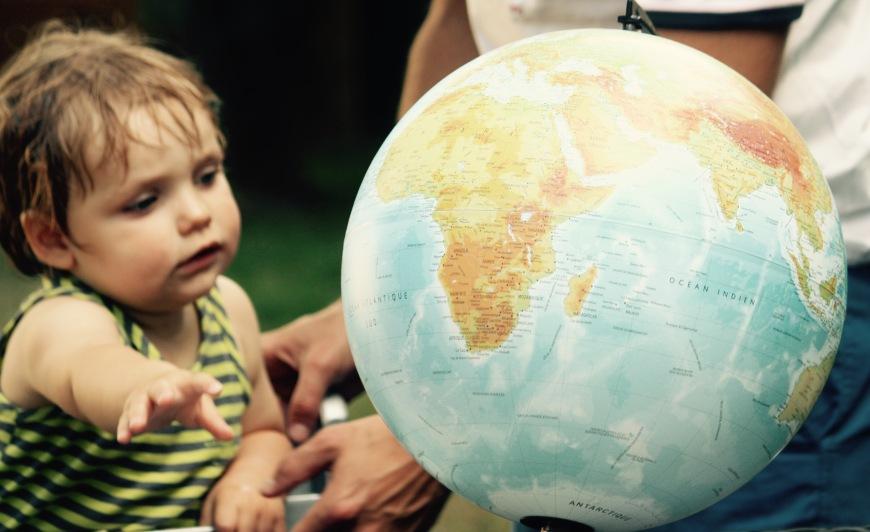 Tour du monde - Annonce enfants