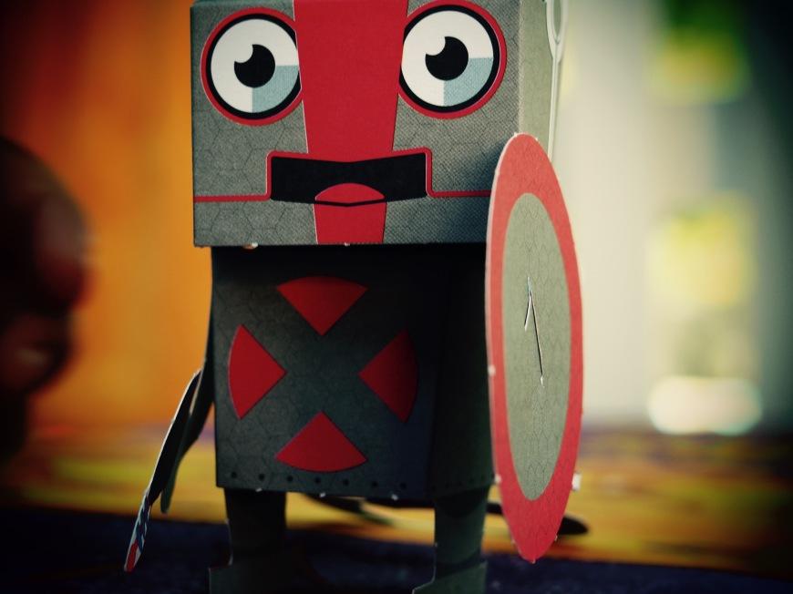 Robots en papier