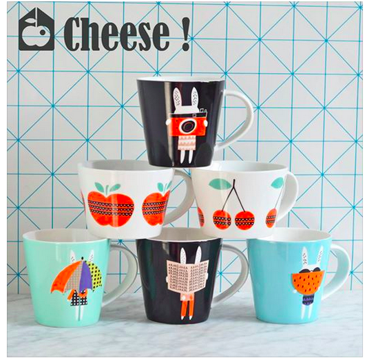 Mugs enfants colorés Deco Graphic