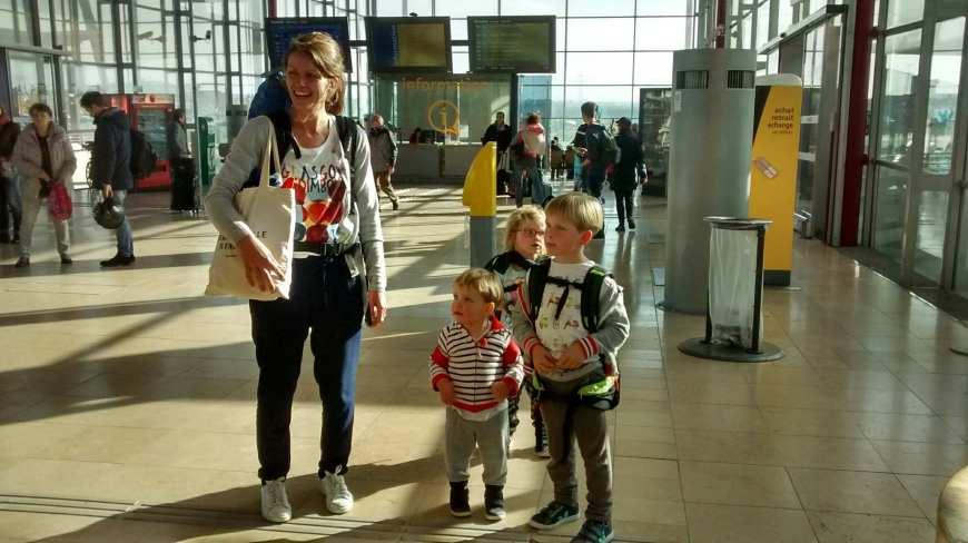 Bagages tour du monde en famille