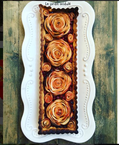 jolie tarte aux pommes